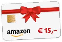 15 Euro amazon Gutschein