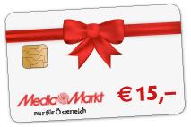 15 Euro MediaMarkt Gutschein