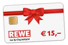 15 Euro REWE Gutschein
